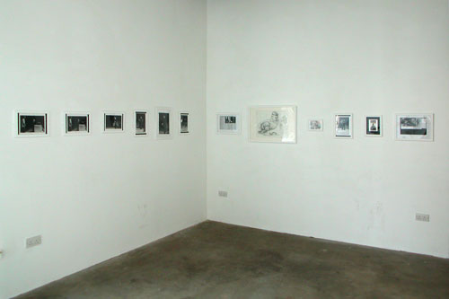 Front room installation view