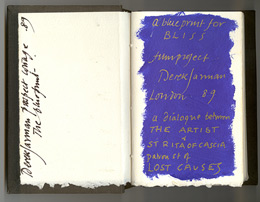 Almost Bliss: Notes on Derek Jarman's Blue