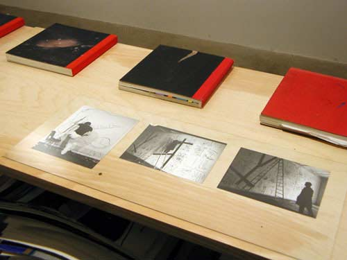 Bruce McLean works on paper and sketch books 15 Feb