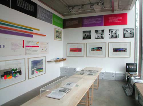 Bruce McLean Final installation 7-11 March