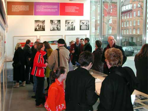 Bruce McLean closing event 11 March