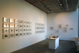 upper gallery space installation view