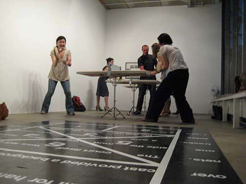 Ping-Pong Dialogues Private view