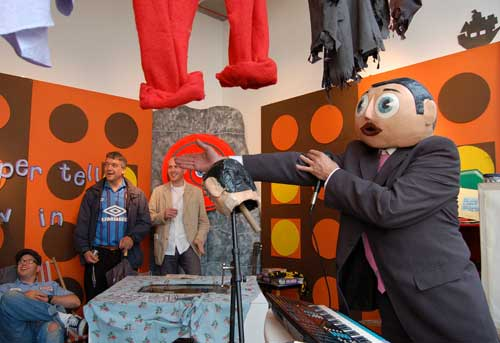 Frank Sidebottom at Performance