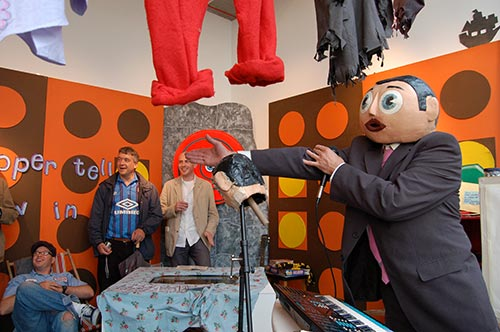 Frank Sidebottom Private view