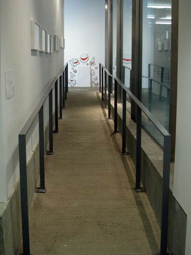 Corridor installation view
