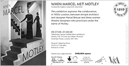 When Marcel Met Motley exhibition at V&A