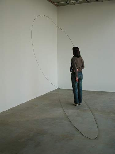 Upper space installation view